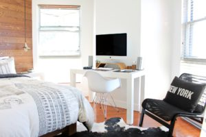 Tv in slaapkamer