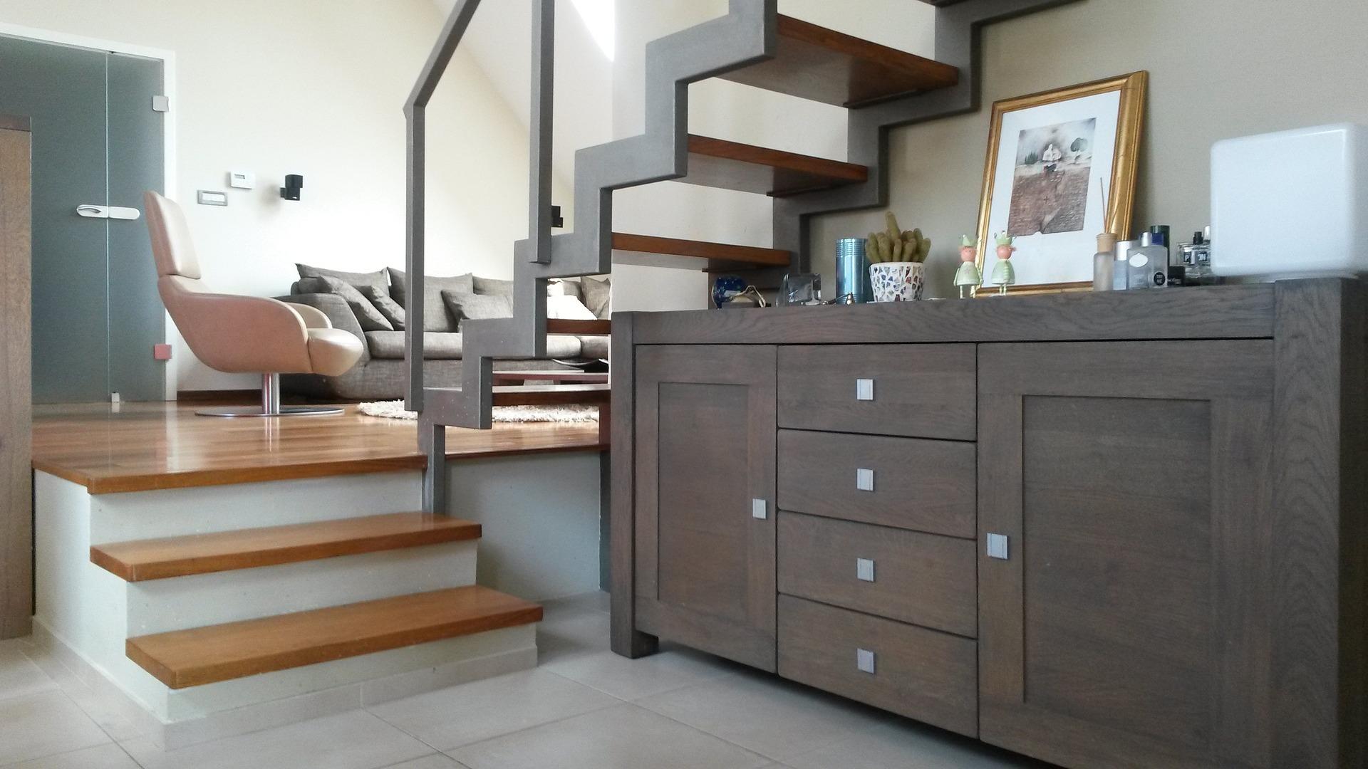 Trap in woonkamer | Woon & Leven