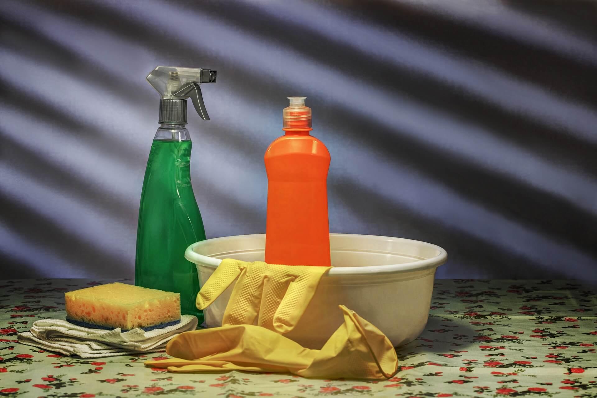 woning schoonmaken